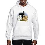 Silkie Chicken Trio Hooded Sweatshirt