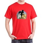 Silkie Chicken Trio Dark T-Shirt