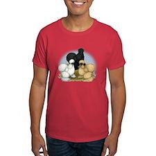 Silkie Chicken Trio T-Shirt