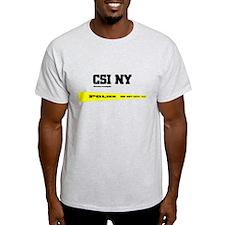 CSI NY Police Tape T-Shirt
