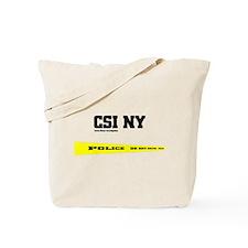 CSI NY Police Tape Tote Bag