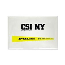 CSI NY Police Tape Rectangle Magnet