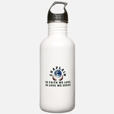 Chaplain Shirts 2 Water Bottle