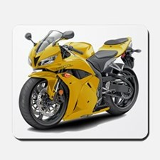 CBR 600 Yellow Bike Mousepad