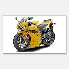 CBR 600 Yellow Bike Decal