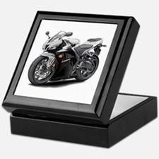 CBR 600 White-Black Bike Keepsake Box