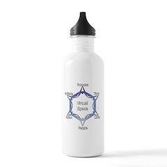 Virtual Space Water Bottle