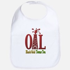 Oil, Black Gold, Texas Tea Bib