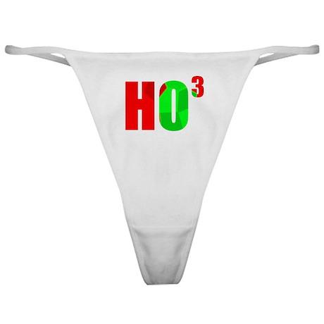 Ho Ho Ho Classic Thong