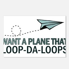 Loop-Da-Loops Postcards (Package of 8)
