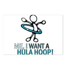 Hula Hoop Postcards (Package of 8)