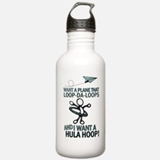 Christmas Don't Be Late Water Bottle