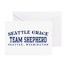 Team Shepherd - Seattle Grace Greeting Cards (Pk o
