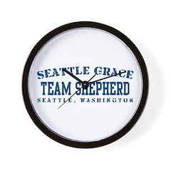 Team Shepherd - Seattle Grace Wall Clock