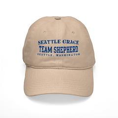 Team Shepherd - Seattle Grace Baseball Cap