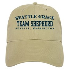 Team Shepherd - Seattle Grace Baseball Cap