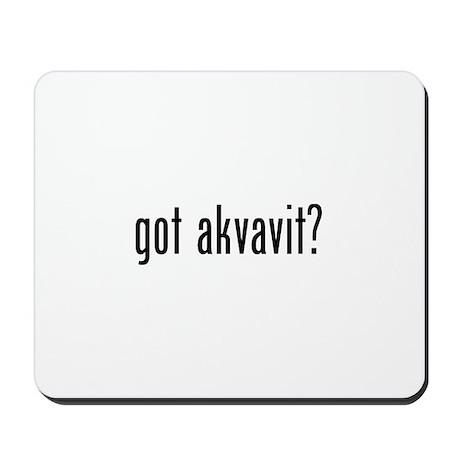 Got Akvavit Mousepad