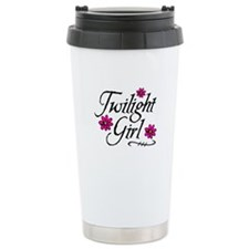 Twilight Girl Flowerz Travel Mug