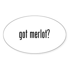 Got Merlot Decal