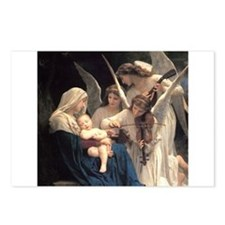 Unique Virgin and child Postcards (Package of 8)
