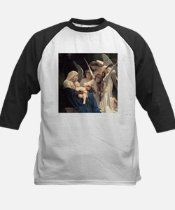 Unique Bouguereau the virgin with angels Tee