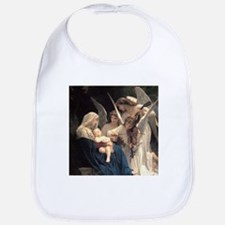 Cool Bouguereau the virgin with angels Bib