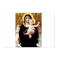 Cool Virgin and child Postcards (Package of 8)
