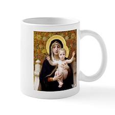 virginofliliesbouguereausq2 Mugs