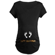 Footprints Halloween T-Shirt