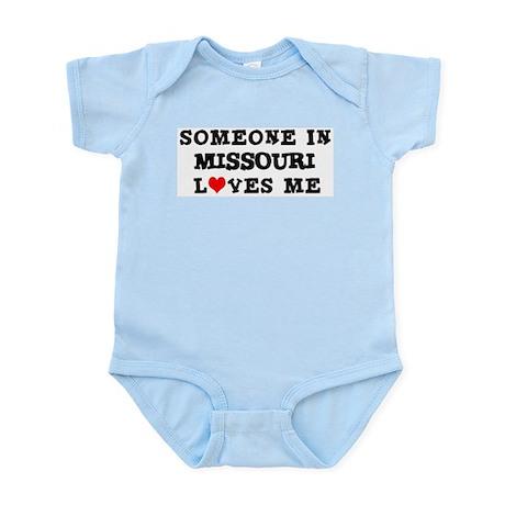 Someone in Missouri Infant Creeper