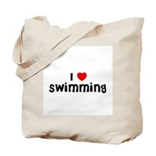 I * Swimming Tote Bag