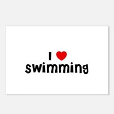 I * Swimming Postcards (Package of 8)