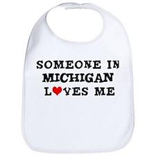 Someone in Michigan Bib