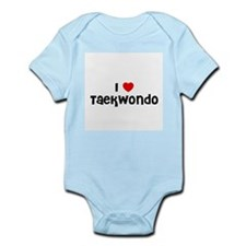 I * Taekwondo Infant Creeper