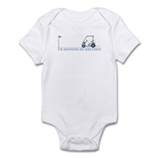 I rather be golfing Infant Bodysuit