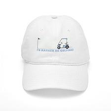 I rather be golfing Baseball Cap
