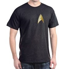 Star Trek Logo gold T-Shirt