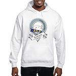 Bethune Clan Badge Hooded Sweatshirt