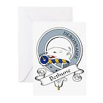 Bethune Clan Badge Greeting Cards (Pk of 10)