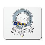 Bethune Clan Badge Mousepad