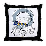 Bethune Clan Badge Throw Pillow