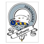 Bethune Clan Badge Small Poster