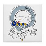 Bethune Clan Badge Tile Coaster