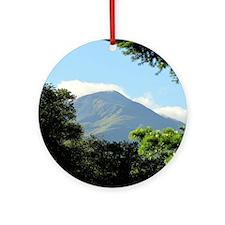 Views from Glen Nevis Ornament (Round)