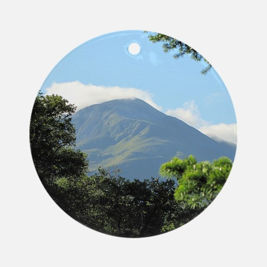 Views from Glen Nevis Ornament (Round)
