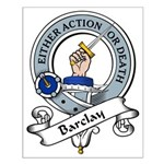 Barclay Clan Badge Small Poster