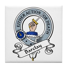 Barclay Clan Badge Tile Coaster