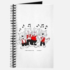Chorus Singing Cats Journal