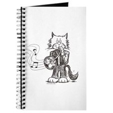 French Horn Cat Journal