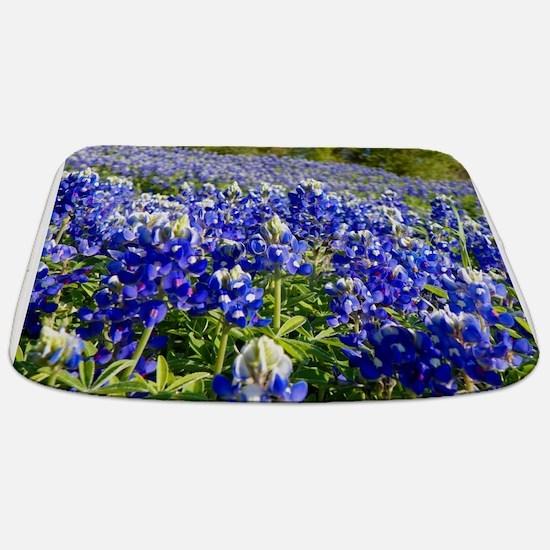 Fields of Bluebonnets Bathmat